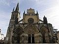 Bazas (33) Cathédrale Saint-Jean-Baptiste Façade occidentale 01.JPG