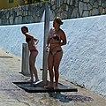 Beach shower (7310840912).jpg