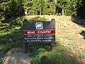 Bear Country Sign for Indian Creek (14457698423).jpg