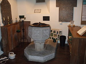 Bearley - Image: Bearley St Mary The Virgin Font