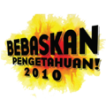 Bebaskan Pengetahuan 2010 project logo.png