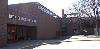 Beck Center for the Arts theater in Lakewood, Ohio, United States