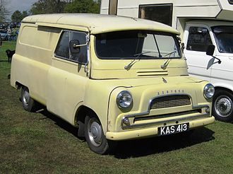 Bedford Vehicles - A Bedford CA type new in 1959