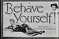 Behave Yourself! Title card (1951, Film).jpg