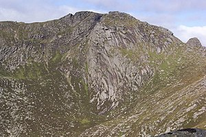 Beinn Tarsuinn (Corbett) - From Goat Fell to the east