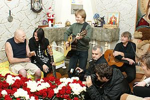 Mikhail Beketov - A concert at Mikhail Beketov's home on 27 November 2010
