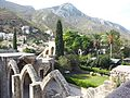 Bellapais Monastery - View to Pentadaktylos Mountains.jpg