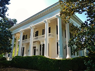 National Register of Historic Places listings in Troup County, Georgia - Image: Bellevue (La Grange, Georgia)