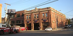 Bellingham Square Historic District - Chelsea Central Fire Station