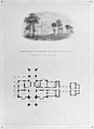 Belmead, James River, Virginia (vignette of riverside elevation and plan) MET MM74077.jpg