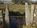 Benchmarked Gatepost - geograph.org.uk - 684843.jpg