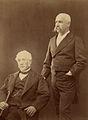 Benjamín Vicuña Mackenna y su padre, Pedro Felix Vicuña Aguirre.jpg