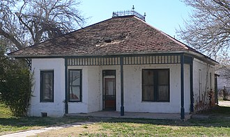 National Register of Historic Places listings in Greenlee County, Arizona - Image: Benjamin F. Billingsley house from SE 2