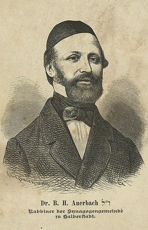 Benjamin Hirsch Auerbach - Benjamin Hirsch Auerbach, 1865