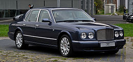 Bentley Arnage R (Facelift) – Frontansicht (2), 3. September 2012, Düsseldorf.jpg