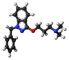 Benzydamine molecule ball.png
