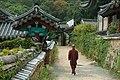 Beomeosa Temples Monk.JPG