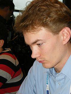 Emanuel Berg Swedish chess grandmaster