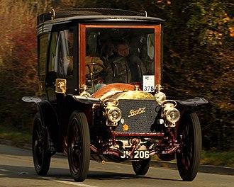 Berliet - Berliet 20HP Closed swing-seat tonneau 1903