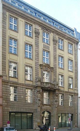 Deutscher Verlag der Wissenschaften - Image: Berlin, Mitte, Taubenstrasse 10, Patzenhofer Brauerei