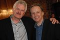 Bernard Wrigley and Nick Park, BBC Radio 2 Folk Awards 2007.jpg