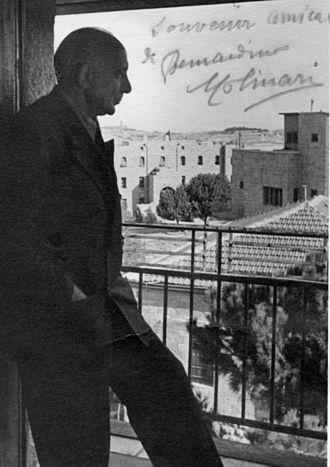 Bernardino Molinari - Molinari in Jerusalem, 1945
