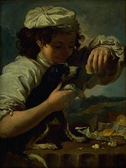A Boy with a Dog (Allegory of \