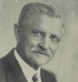 Bernhard M. Jacobsen - Frontispiece of 1937's Bernhard Martin Jacobsen, Late a Representative from Iowa.