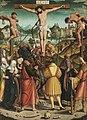 Bernhard Strigel (Umkreis) - Kalvarienberg Rückseite, Christus als Schmerzensmann - 1490 - Bavarian State Painting Collections.jpg