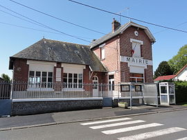 The town hall of Berthenicourt