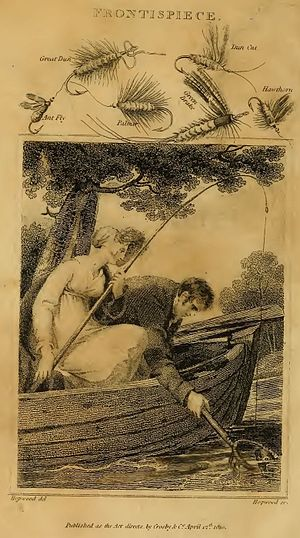 A Concise Treatise on the Art of Angling - Frontispiece (9th Edition)