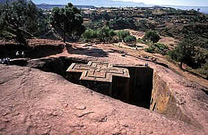 Christianity in Africa - The Church of Saint George, Lalibela, Ethiopia
