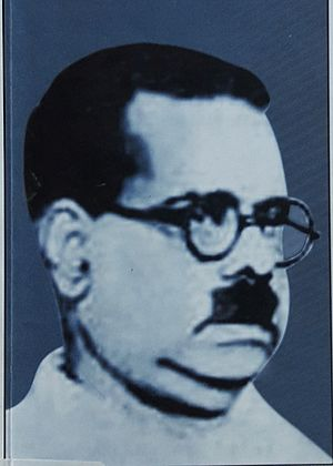 Tanittamil Iyakkam - Tamil poet Bharathidasan's image from a book cover.