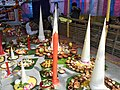Bhog,decorated sweets and food in Shakta rash 1.jpg