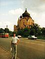 Bialystok, Antoniuk crkva, Ikarus, lipiec 1992.jpg