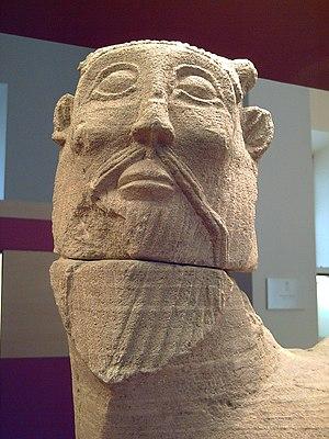 Bicha of Balazote - Detail: head.