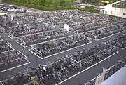 Bicycle Parking Lot Niigata
