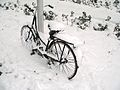 Bicycle in Amsterdam after heavy snow - 4.jpg