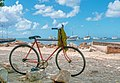 Biking in Juan Griego Bay, Margarita Island.jpg