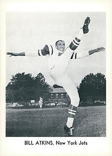 Billy Atkins (American football) American football player, coach, college athletics administrator