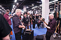 Bill Clements demos his Regenerate Guitar Works signature bass 1 - 2014 NAMM Show.jpg