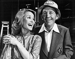 Kathryn Crosby - Bing and Kathryn on his 1976 Christmas special.