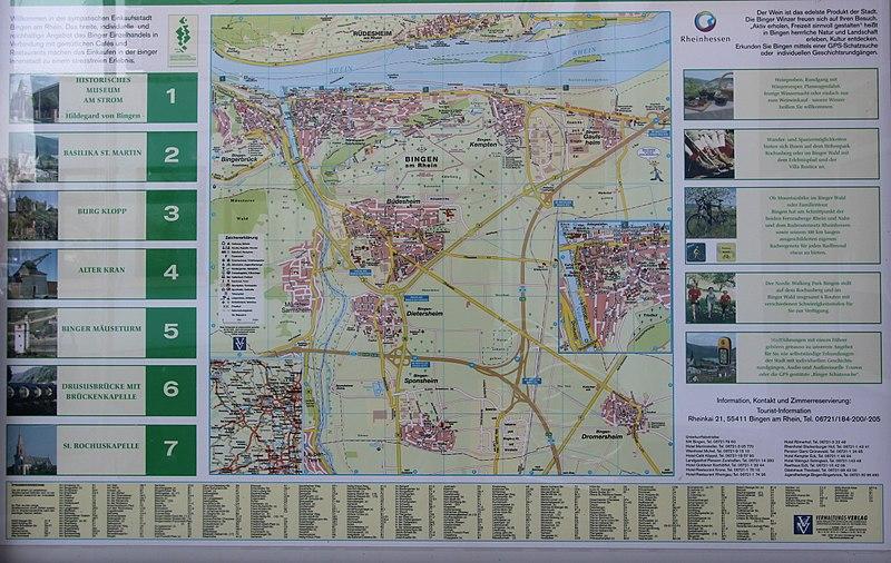 File:Bingen am Rhein; Stadtplan a.jpg