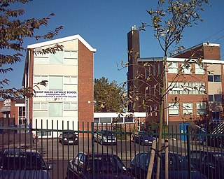 Bishop Walsh Catholic School Academy in Sutton Coldfield, Birmingham, West Midlands, England