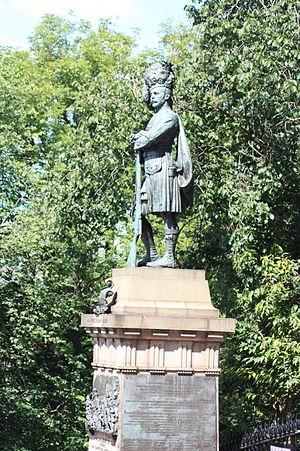 William Birnie Rhind - Black Watch Memorial, The Mound, Edinburgh