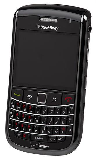 BlackBerry Bold - Image: Blackberry Bold 9650 Verizon