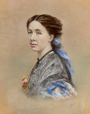 Carthona, Darling Point - Blanche Mitchell, youngest daughter of Sir Thomas Mitchell