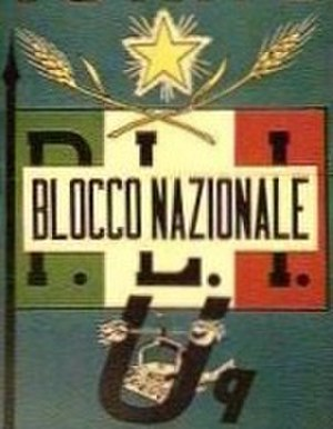 National Bloc (Italy) - Image: Blocco Nazionale