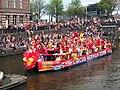 Boat 61 Circus Herman Renz, Canal Parade Amsterdam 2017 foto 1.JPG