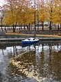 Boat on Locks of Vltava River - Prague - Czech Republic.jpg